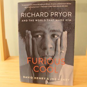 """Furious Cool"" Richard Pryor paperback -Henry"